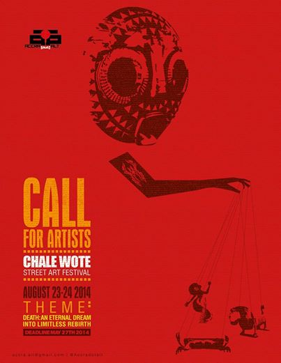 CHALE WOTE 2014 - Call for submissions.