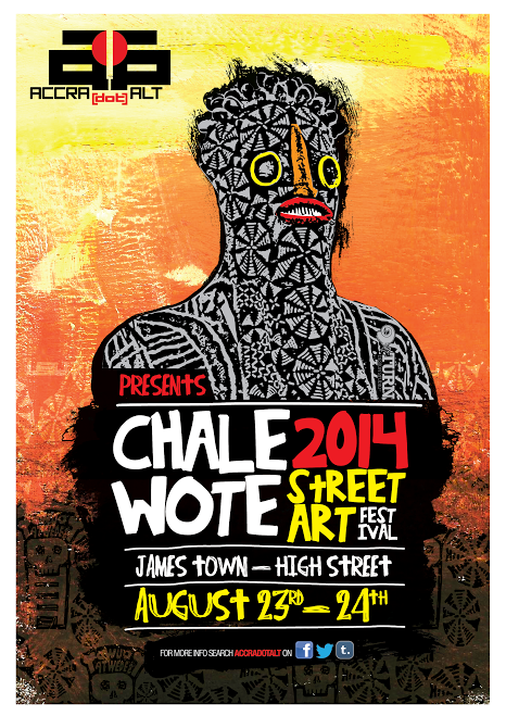 Chale Wote 2014 poster!