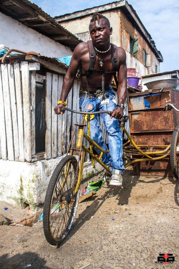 Kingpin of the Flat Land Boys Martin Abrokwa has crazy stunts for fans this year