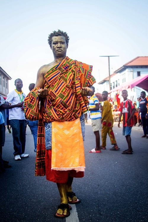 Bernard Akoi-Jackson returns to CHALE WOTE this year. photo: Selorm Jay
