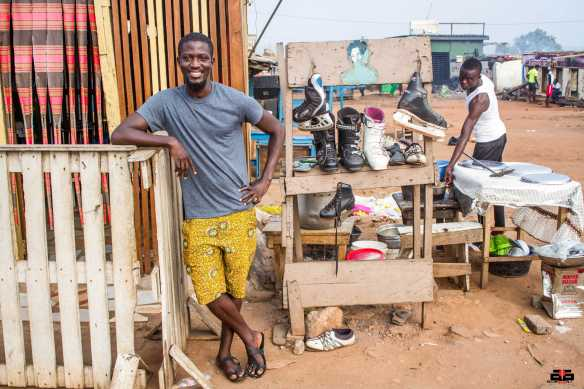 Ghanaian artist Mahama Ibrahim is bringing the biggest installation to Chale Wote this year