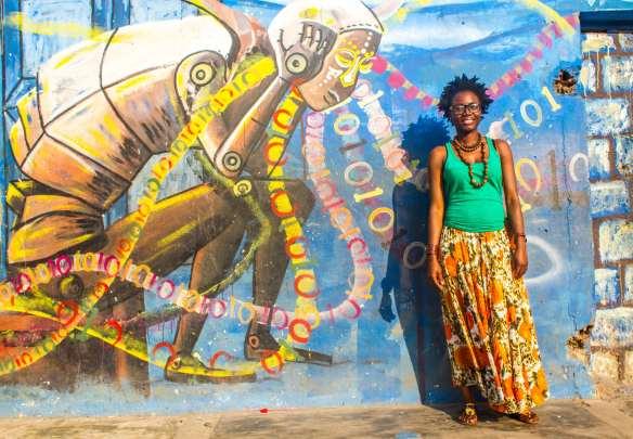 Strolling Goats - Chale Wote - James Town- Accra Dor Alt-03