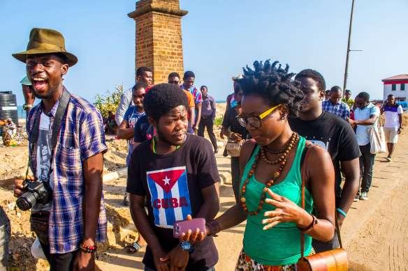 Strolling Goats - Chale Wote - James Town- Accra Dor Alt-artistes04