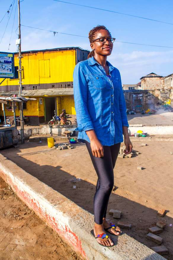 Urban Planner Victoria Okoye wants to transform James Town.