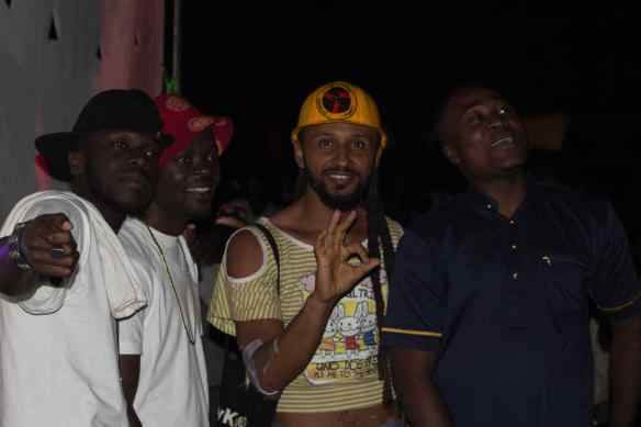 Wanlov & Cabum + some artistes from the CUE Family.
