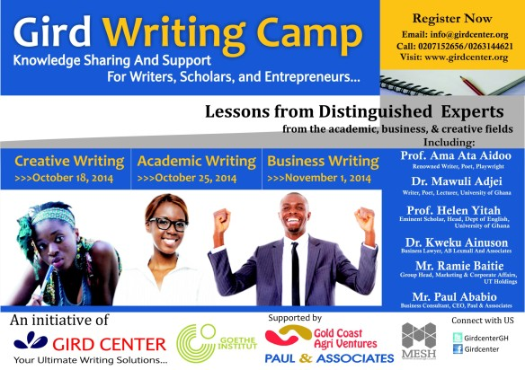 Gird Writing Camp